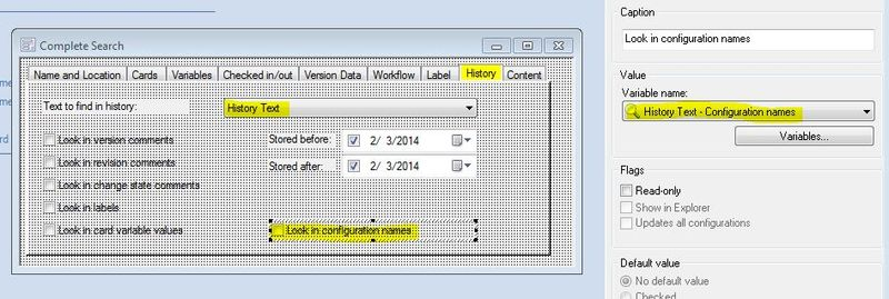Configurationnamesearch